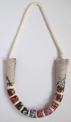 Custom Made Single Strand Necklace Baby Friendly by monkeyandmum