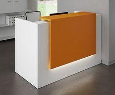 simple reception desk - Google Search