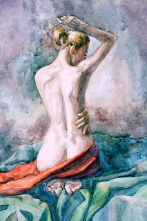 Figure Painting, Figure Drawing, Painting & Drawing, Art Sketches, Art Drawings, Romantic Drawing, Human Art, Erotic Art, Figurative Art