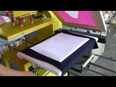 Dye Sublimation heat transfer on BLACK COLOR 100% COTTON FABRIC - YouTube