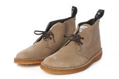 WTAPS x Clarks Desert Boots