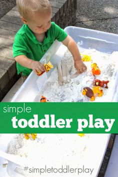 Toddler Approved!: Simple Toddler Play. Come join us over on Instagram for some fun #simpletoddlerplay activities!
