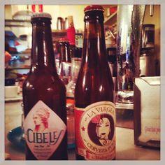 Cervezas artesanales de Madrid Cibeles y La Virgen