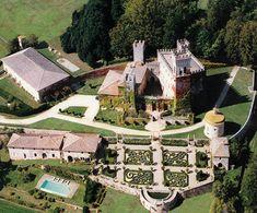 Sovicille  (Siena, Italia) - Castello di Celsa