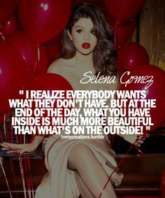 Quote by Selena Gomez ♥