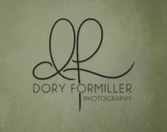 Handwritten Initials logo Custom Logo photoshop by PixelPolish