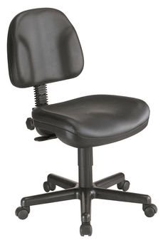 Backrest Leather Premo Ergonomic Task Chair