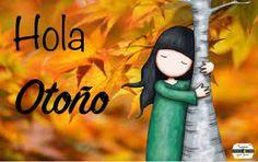 images de recibir otono | Bonitos carteles con frases de Felíz Otoño, Hola Otoño y Bienvenido ...