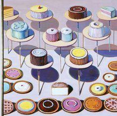 Wayne Thiebaud Cakes & Pies 1994-95
