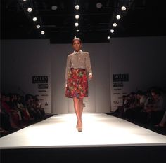 Colourful summer, the next one is going to be! We're loving @JoshGoraya's new collection. Uber chic! #WIFW #SS15