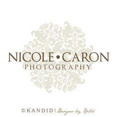 Premade Logo and Watermark Perfect For Branding by KMarshPhotos. $35.00, via Etsy.