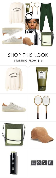 """For the Love of Tennis"" by cassiecronk ❤ liked on Polyvore featuring Yeezy by Kanye West, Origins, adidas Originals, Jason Wu, rag & bone, Bobbi Brown Cosmetics and Core Home"