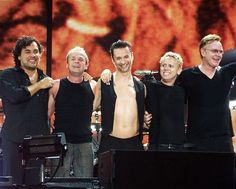 Depeche Mode during Touring the Angel