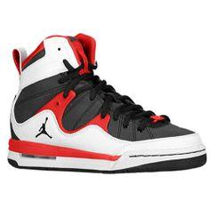 14b7f814885 Jordan Girls Basketball Shoes best in the world | Jordan TR '97 - Boys'  Grade School - Basketball - Shoes - Black/White .