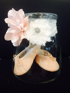 First pair of ballet shoes