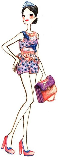 Les tendances mode Printemps Été 2012 fleursTPE12