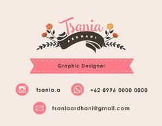 """Check out new work on my @Behance portfolio: """"Name Card""""…"""