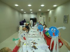 Children's Crafts in Rush Library