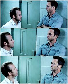"""""""What are you looking at me like that for?""""  hawaii five 0  mcdanno  alex o'loughlin  scott caan  H50: 6x14  i needed to capture that one stare  listen danny my sweet little pineapple if you can't figure out that look then I don't know what to tell you  otp recipe: 1 oblivious smol; 1 super lusty tol"""