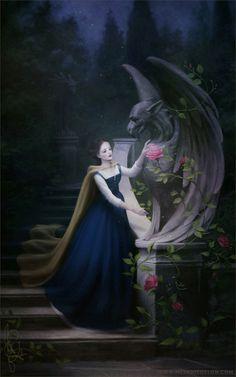 Disney Princesses by Mélanie Delon