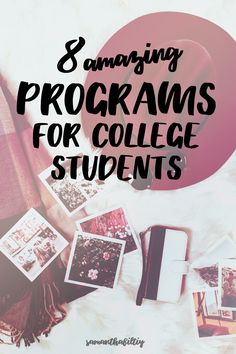 These unique and amazing programs for college students will help build a career and provide experience!