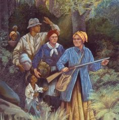Harriet Tubman, Mose