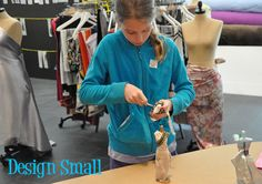 design small dresses Fashion Design for Kids With Rosie Flo and Yves Saint Laurent