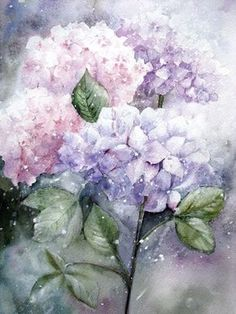 Watercolour Florals: May 2012