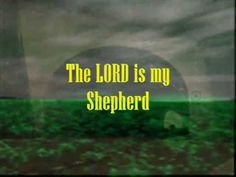"""The LORD is my Shepherd"" lyrics video (Jeremy Riddle)"