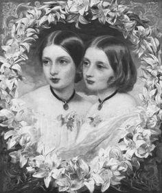 Princess Helena (1846-1923) & Princess Louise (1848-1939)
