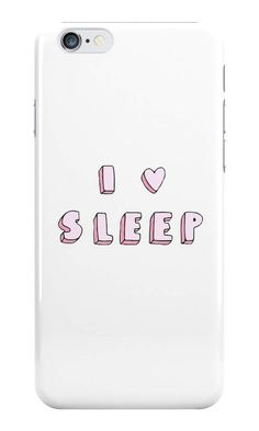 Our I Love Sleep Phone Case is available online now for just £5.99.    Get this super cute I love sleep phone case, available for iPhone, iPod & Samsung models.    Material: Plastic, Production Method: Printed, Weight: 28g, Thickness: 12mm, Colour Sides: White, Compatible With: iPhone 4/4s | iPhone 5/5s/SE | iPhone 5c | iPhone 6/6s | iPhone 7 | iPod 4th/5th Generation | Galaxy S4 | Galaxy S5 | Galaxy S6 | Galaxy S6 Edge | Galaxy S7 | Galaxy S7 Edge | Galaxy S8 | Galaxy S8+ | Galaxy J5, Featu