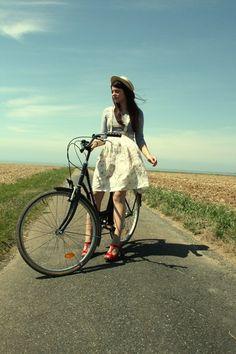 Bike styles.