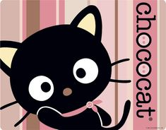 Chococat Pink and Brown Stripes