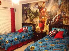 Avengers boys room