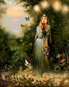 Ategina ou Ataegina era a deusa do renascimento (Primavera), fertilidade, natureza e cura na mitologia lusitana. Viam-na como a deusa lusita...