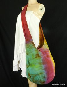 Tie Dye Bag Purse Sling Messenger Crossbody by BenThaiProducts, $15.99