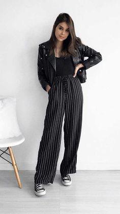 10 maneiras de usar alfaiataria na balada Uni Fashion, Look Fashion, Autumn Fashion, Fashion Outfits, Fashion Tips, Fashion Design, French Fashion, Basic Outfits, Cool Outfits