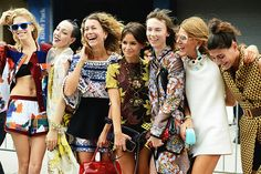 DAILY INSPIRATION: Prints, prints and more prints! It's super star street style photographer, Tommy Ton's top pics from NYFW. Check out all those ethnic prints - at least somewhere it's still sunny enough for summer fashion!    http://www.wandering-threads.com/2012/09/tommy-ton-does-nyfw-again-ss13-street.html