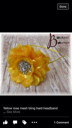 Yellow satin with bling- perfect for CU!
