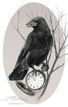 Turn this bird on against the original bird on the sleeve tattoo – tatoo Birds Tattoo, Tattoos, Future Tattoos, Art Tattoo, Clock Tattoo, Sleeve Tattoos, Art, Crow Tattoo Design, Bird Art
