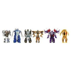 Transformers® Age of Extinction One Step Magic Collection Set- Exclusive- 2 robot-to-dino figures and 4 robot-to-vehicle figures-Plastic- No battery used Transformers Toys, Best Kids Toys, Star Wars Toys, Optimus Prime, First Step, Cool Kids, Magic, Christmas 2014