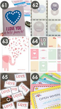 Free Valentine Cards for Hubby