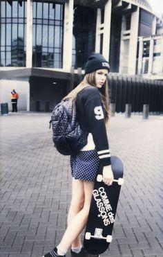 skate girl grunge♥