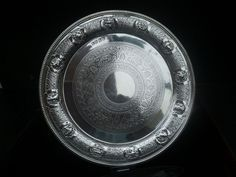 Silver Zodiac Salver, Glasgow 1902, Lawson & Co