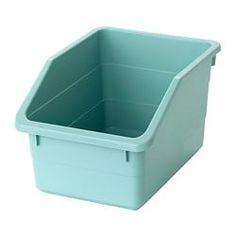 Set of 50 ERGO-Box L blue storage bin for workshop or garage size 3
