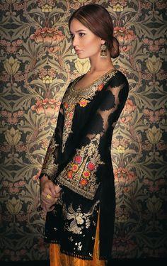 Picture of Midnight bloom Beautiful Pakistani Dresses, Pakistani Bridal Dresses, Pakistani Outfits, Indian Dresses, Indian Outfits, Indian Attire, Indian Wear, Saris, Pakistan Fashion