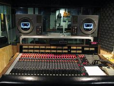 Muscle Shoals Studio. The console looks like an MCI 400 series, which I spent a lot of time on way back when. #recording