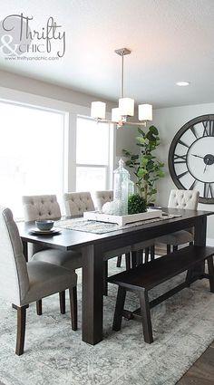 modern dinning room decor idea