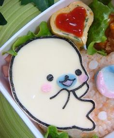 OMG it's mamegoma i love you mamegoma marry me i am so putting this in my bento!!!!