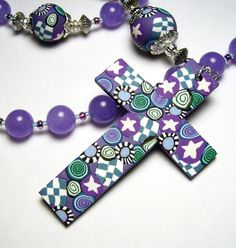 Anglican Protestant Prayer Beads Rosary by SweetchildJewelry, $30.00